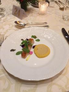 お魚料理は金目鯛のポワレ(^^)